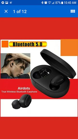 For Xiaomi Redmi Bluetooth 5.0 Airdots Headset Stereo Earbuds Earphone Headphone for Sale in Wall Township, NJ