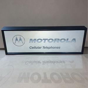 Motorola Lighted Sign for Sale in Portland, OR