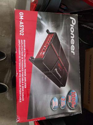 Pioneer amp for Sale in Pomona, CA