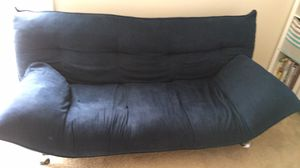 Convertible futon in navy blue for Sale in NJ, US