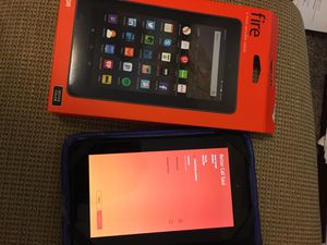 Amazon fire tablet 7 black like new for Sale in Waxahachie, TX