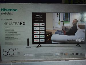 50 inch Hisense Android Tv model 50H6570G for Sale in Ontario, CA