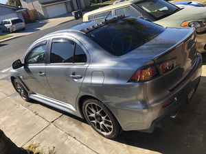 2013 MITSUBISHI EVOLUTION PART OUT OR SELLING AS WHOLE for Sale in Salida, CA