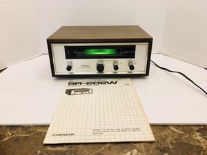 Vintage Mint Condition Pioneer SR-202 W Reverberation Amplifier Home Audio for Sale in Spring Hill, FL