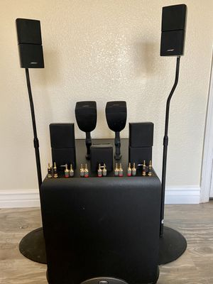 Bose Speakers and Klipsch Powered Subwoofer for Sale in Gilbert, AZ