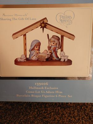 Precious moments nativity set for Sale in El Cajon, CA