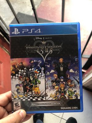 Kingdom hearts Hd 1.5 + 2.5 Remix PS4 for Sale in Long Beach, CA