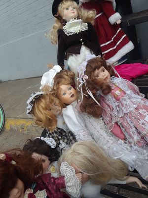 antique porcine dolls for Sale in Clyde, TX