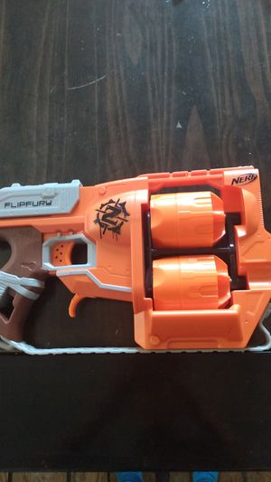 Nerf Flipfury Zombie Strike Series Dart Gun for Sale in Chatsworth, CA