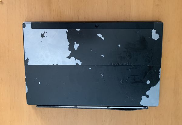 Microsoft surface tablet with keyboard for sale