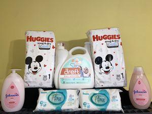 Dreft Huggies Bundle- Size 1 for Sale in Grand Prairie, TX
