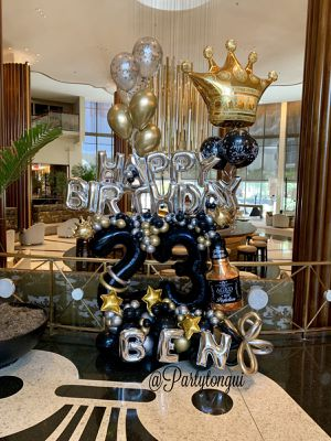 King Balloons Bouquet 👑 🎈 Arreglo de Globos para Cumpleaños 🎈 Birthday Balloons for Sale in Miramar, FL