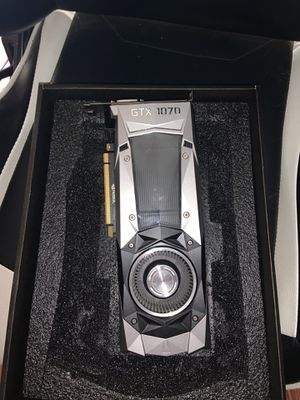 Nvidia GeForce GTX 1070 (Founders Edition) for Sale in Riverside, CA
