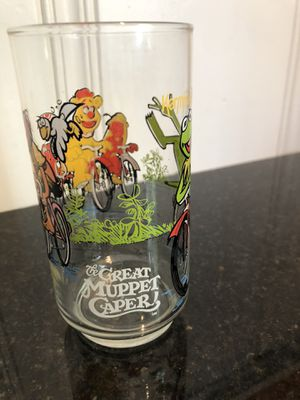 Muppets, The great muppet caper collectible glass from McDonald's for Sale in Encinitas, CA