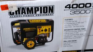 Champion 4000 generator for Sale in Windsor, CT