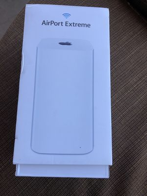 Apple AirPort Extreme 802.11ac WiFi router for Sale in Hesperia, CA