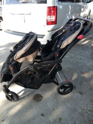 Options elite contours double stroller for Sale in Oakley, CA