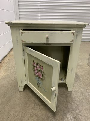 Antique hand painted night table for Sale in West Springfield, VA