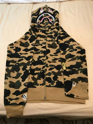 Bape ponr camo shark hoodie for Sale in Beverly Hills, CA