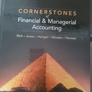 Cornerstone of Financial & Managerial Accounting for Sale in Waterbury, CT