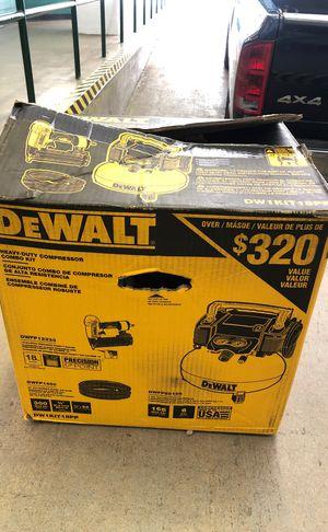 Dewalt Heavy-Duty Compressor with Gun for Sale in McLean, VA