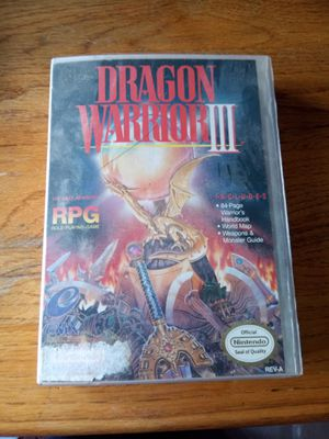 Dragon warrior 3 for Sale in Newark, OH