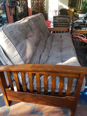 Wood Futon sofa for Sale in Hialeah, FL