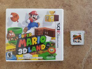 Super Mario 3D Land For Nintendo 3DS - $17 for Sale in Phoenix, AZ