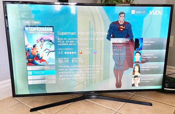 50 inch Samsung TV Smart LED WiFi