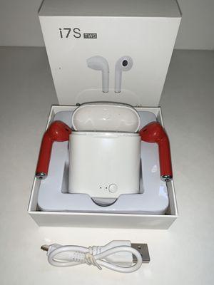 Wireless EarPods i7S RED for Sale in Corona, CA