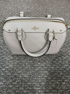 White Chalk Coach Purse for Sale in Banning, CA