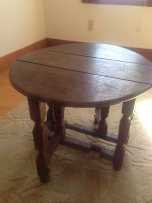 Antique English miniature gate leg table for Sale in Quincy, MA