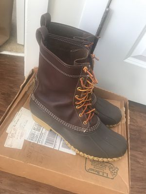 LL BEAN BEAN BOOT SIZE 13 for Sale in Alexandria, VA
