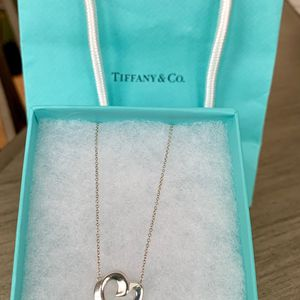Tiffany & Co. large Paloma Picasso heart 925 necklace for Sale in Santa Ana, CA