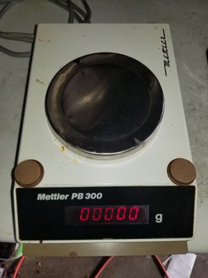 Mettler pb 300 gram scale for Sale in St. Peters, MO