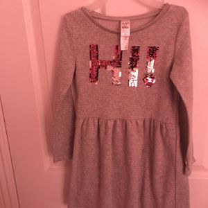 Long Sleeve Gray Dress Size 6-6x. for Sale in Westminster, CA