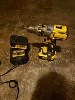 20V hammer drill with charger and extra battery. for Sale in Garland, TX