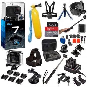 Black GoPro Hero 7 with Accessories for Sale in Fresno, CA