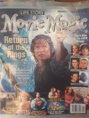2004 copy of the movie Magic magazine featuring Lord of the Rings the Return of the king for Sale in Marion, MI