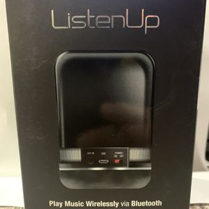 i.sound Listen Up Rechargeable Portable Bluetooth Speaker for Sale in Las Vegas, NV