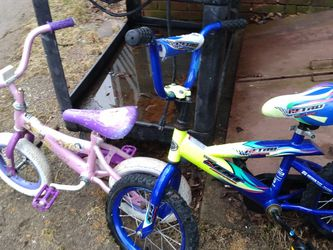 2 Small Children's Bikes 15 Dollars For BOTH for Sale in Mansfield,  MA