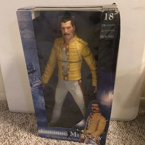 Freddie Mercury Action Figure Queen Collection for Sale in LEWIS MCCHORD, WA