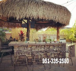 Outdoor BBQ Island barbecue grill barbeque kitchen palapa for Sale in Riverside, CA