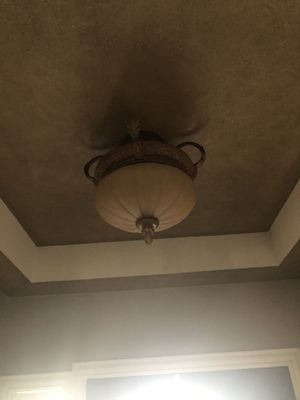 Flush mount light fixture for Sale in Victoria, TX