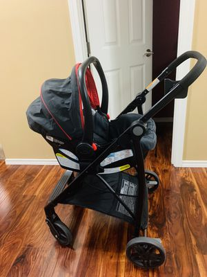 Graco car seat and stroller with two bases for Sale in Puyallup, WA