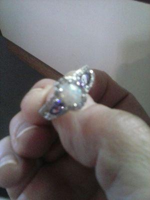Fire Opal Purple CZ Ring for Sale in Dubuque, IA