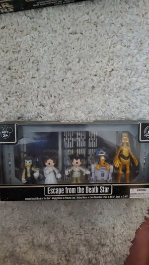 Limited edition disney Star wars star tours escape from the death star for Sale in Carrollton, TX