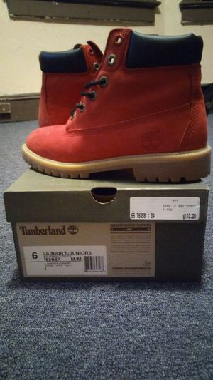 Red Timberland for Sale in Trenton, NJ