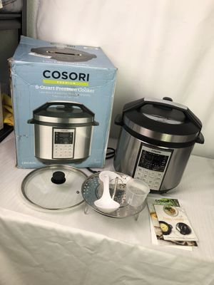 Cosori pressure cooker like new used for Sale in Corona, CA