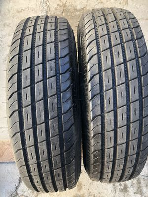 235/85/16 Trailer tires $80 for the pair for Sale in Highland, CA